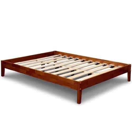 Best Price Mattress Solid Hardwood Platform Bed