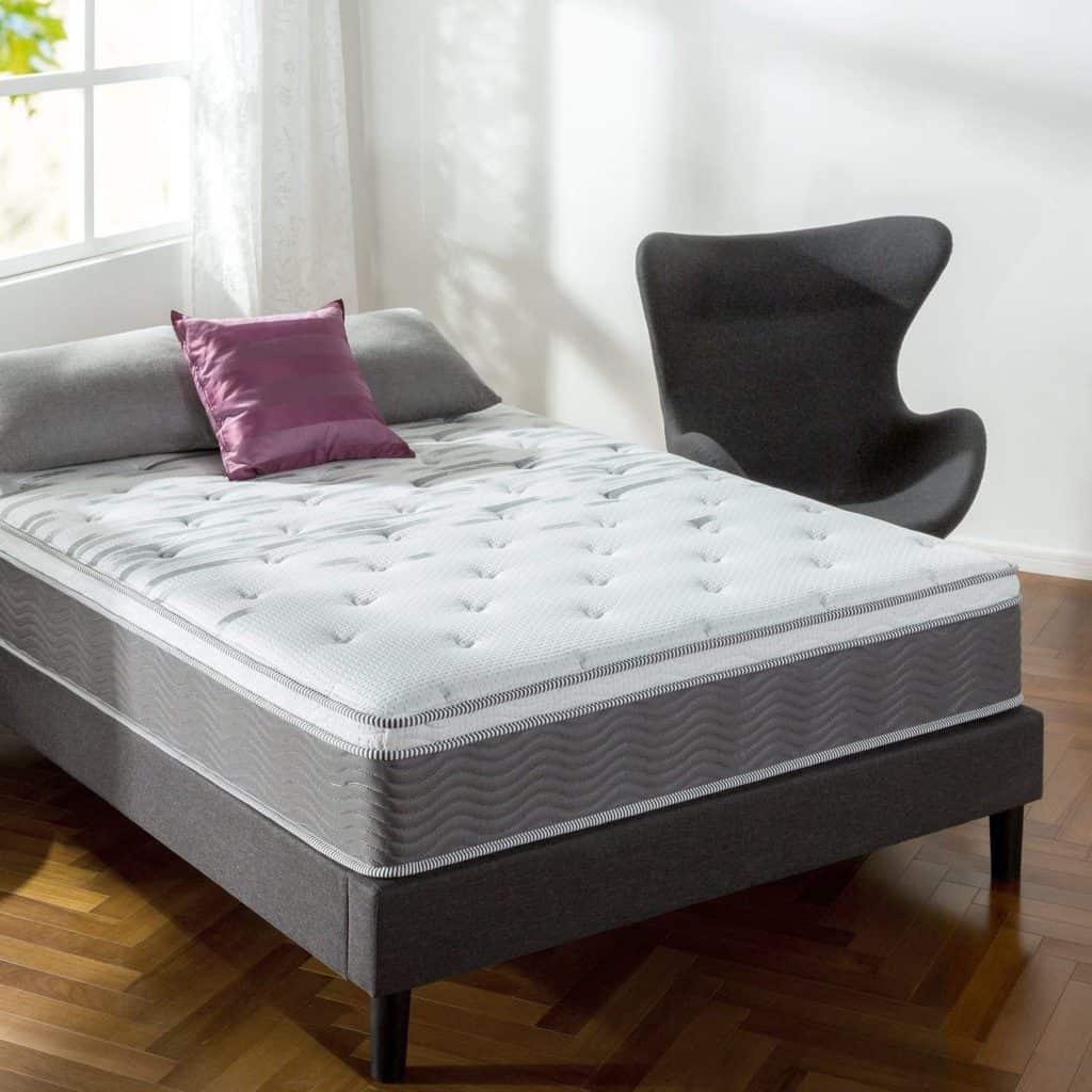 Zinus Mattress in Bedroom