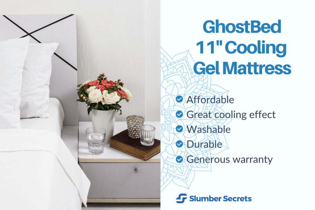 GhostBed 11-Inch Cooling Gel Mattress