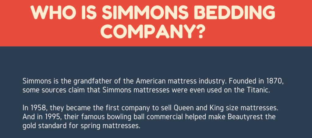 who-is-simmons-bedding-company